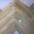 Herringbone Stejar 420x70x21mm Rustic