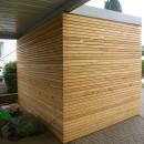 fatada ventilata lemn Larice Siberian