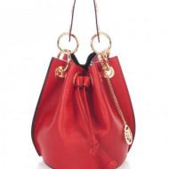Geanta dama din piele naturala Rosie Bucket bag Nora by Markese