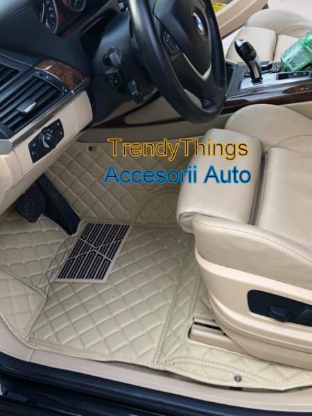 Covorase auto BMW X5 E70 bej