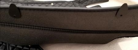 Covorase auto Audi A8 D4 negru fir rosu LONG