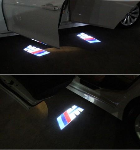 Proiector 3D  M Logo BMW cu led pentru portiera