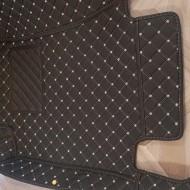 Covorase auto Mercedes Benz CLS 2006-2015 negru cu fir crem