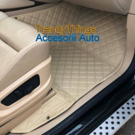 Covorase auto Audi A4 B8( 2008 + ) bej