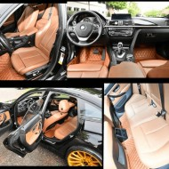 Covorase auto BMW X5 E70 Maro Deschis
