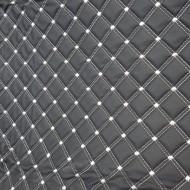 Covorase auto Mercedes S Class long (2004-2013);negru fir crem