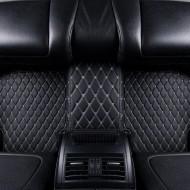 Covorase auto Skoda Octavia 2 negru fir crem