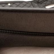 Covorase Auto Volkswagen Passat B8 ; negru cu fir crem