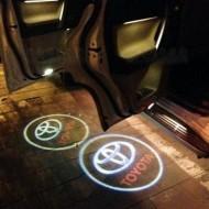 Proiector 3D Logo Toyota cu led pentru portiera