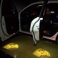 Proiector 3D Porsche  cu led pentru portiera