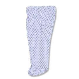 Pantalonas cu botosei si buline albastre