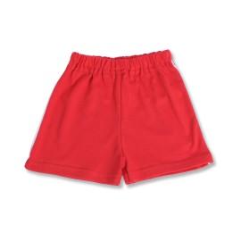 Pantaloni scurti rosii pentru copii