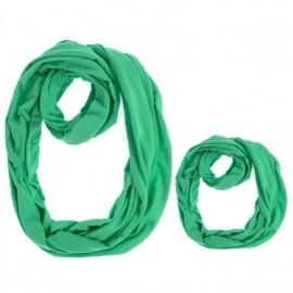 Set esarfa mama si copil - verde fresh