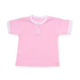 Tricou roz pentru bebe