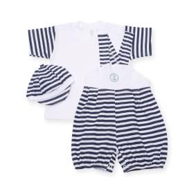 Costumas cu dungi bleu-marine