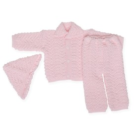 Poze Costumas roz tricotat