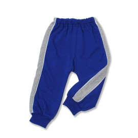 Pantalon trening bebe albastru