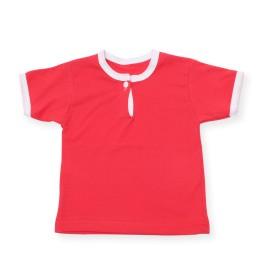 Tricou rosu pentru bebe