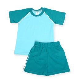 Costumas de vara aqua cu turquoise