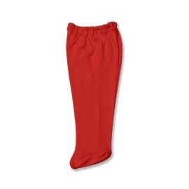 Pantalonas rosu cu botosei