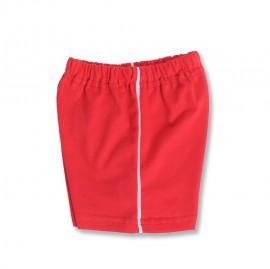 Pantaloni scurti rosii pentru bebe