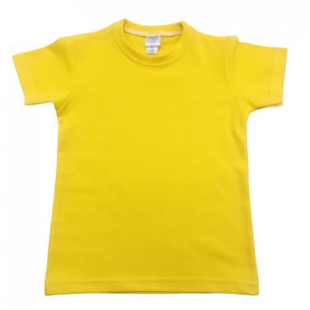 tricou galben copii