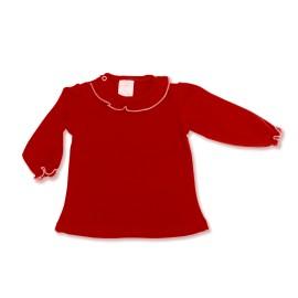 Bluza rosie pentru fetite