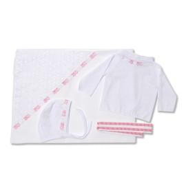 Set bebe cu 4 piese cu roz