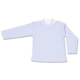 Bluzita bebe - imprimeu albastru