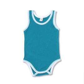 Body bebe maieu turquoise intens