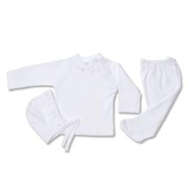 Costumas alb 3 piese