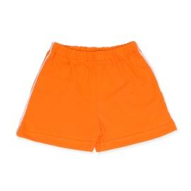 Pantaloni scurti portocalii pentru bebe