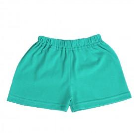 Pantaloni scurti verzi pentru bebe
