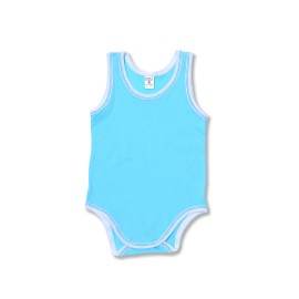 Poze Body bebe maieu aqua