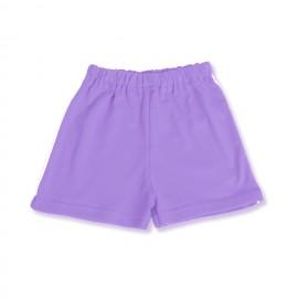 Pantaloni scurti lila pentru bebe