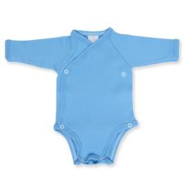 Body bebe bleu petrecut