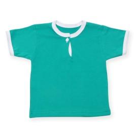 Tricou verde pentru bebe