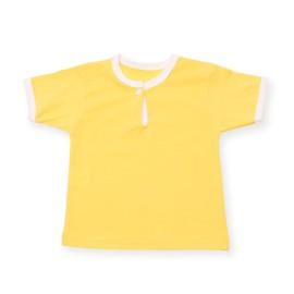 Tricou galben pentru bebe