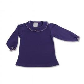 Bluza violet bebe fetita