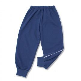 Pantalon trening bebe denim cu vipusca