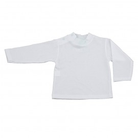 Bluza alba pentru bebe