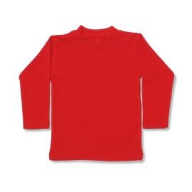 Bluza rosie pentru copii
