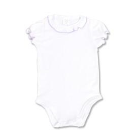 Body alb pentru fetita