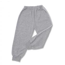 Pantalon trening bebe gri melange cu vipusca