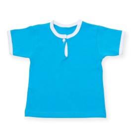 Tricou albastru pentru bebe