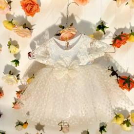 Rochita crem - marime 3 - 6 luni