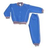 Costum trening albastru cu capse