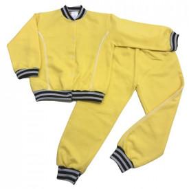 Costum trening galben cu capse