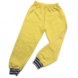 Pantalon trening copii galben