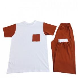 Pijamale familie - set 2 adulti si copil